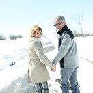 Couple en Savoie