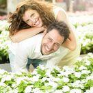 Jeunes mariés suite à rencontre agence matrimoniale