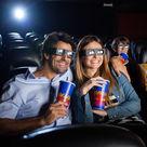 Couple amoureux au cinéma - Lyon