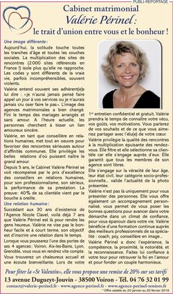 Valérie Périnel : le trait d'union entre vous et le bonheur