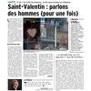 St Valentin : Parlons des hommes (pour une fois)