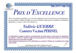 Prix d'Excellence 2019